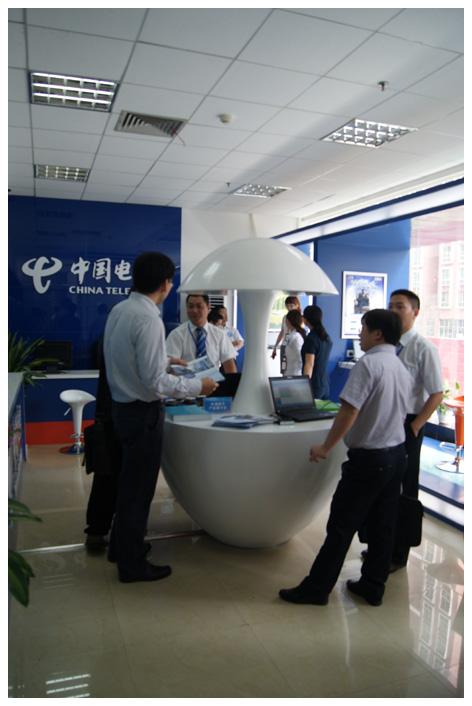 2011年电信平台展示厅