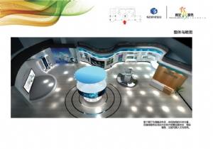 星瑞安科技展陈设计方案图